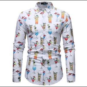 Other - Men's long sleeve casual shirt